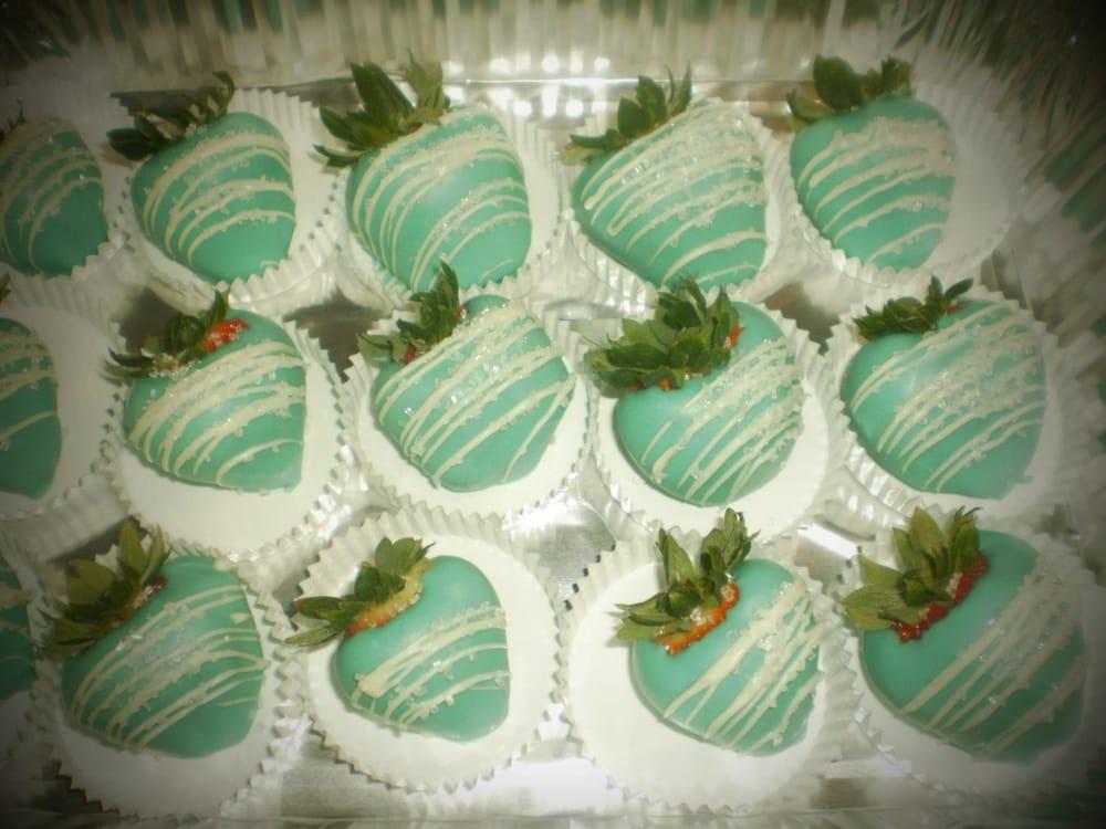 Tiffany Blue Chocolate Covered Strawberries Yelp