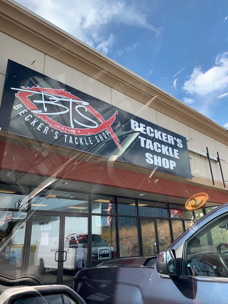 Becker's Tackle Shop: 182 E Neider Ave, Coeur d'Alene, ID