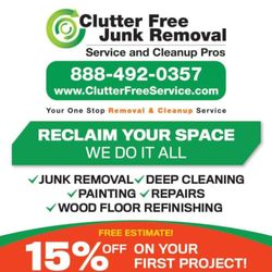 Free Junk Removal >> Clutter Free Junk Removal Service Cleanup Pros 401 Photos 48