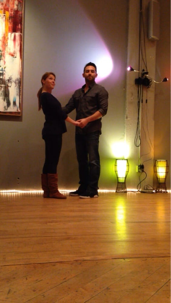 Just Knock West Coast Swing At The Dance Loft Clubs