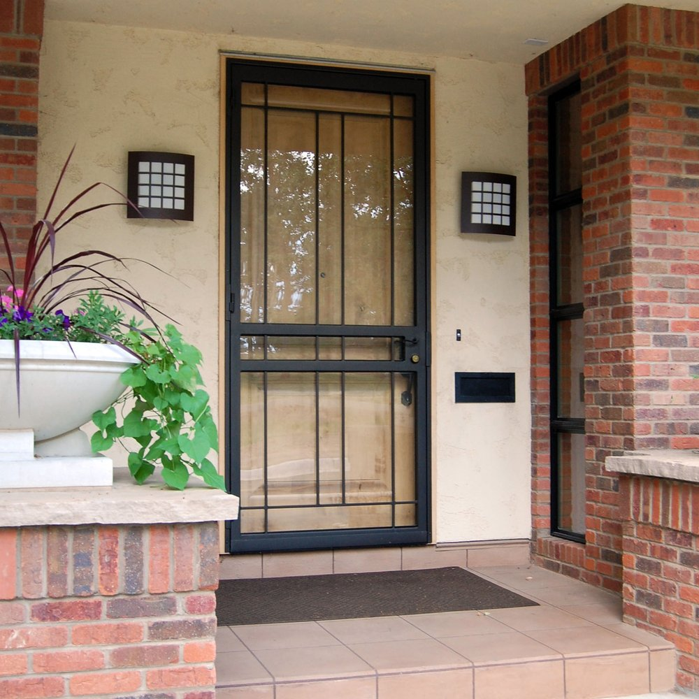 Oversize width and height Lexington insulated security ...