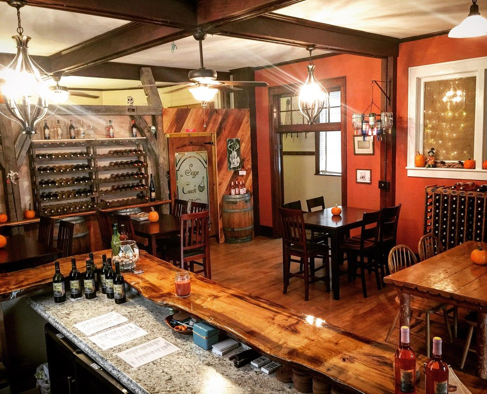 Sage Creek Winery: 35050 Bordman Rd, Memphis, MI