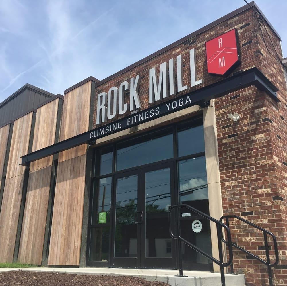 Rock Mill Climbing: 677 Carroll St, Akron, OH