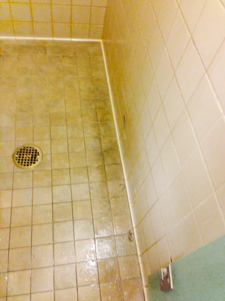 When do you think this shower was last cleaned yelp for 24 hour tanning salon northridge ca