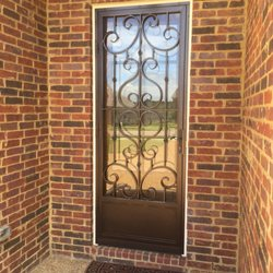 Photo Of Maclin Security Doors   Memphis, TN, United States. Victorian Security  Door ...