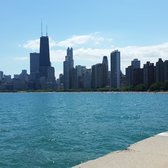Photo Of Oak Street Beach Chicago Il United States View City