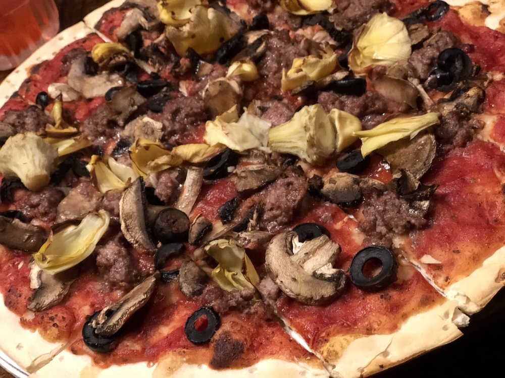 Food from Turoni's Pizzery & Brewery