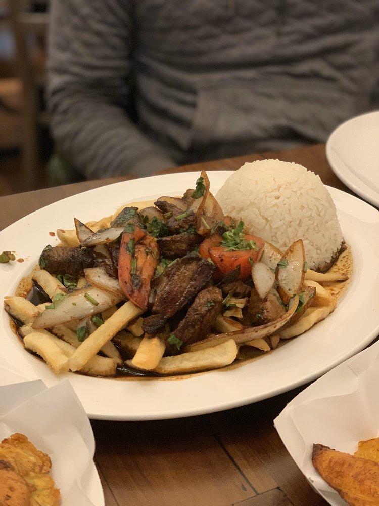 Food from Estacion Inka