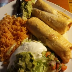 Cuco S Mexican Restaurant Verona Wi United States En Chimichangas With Rice And
