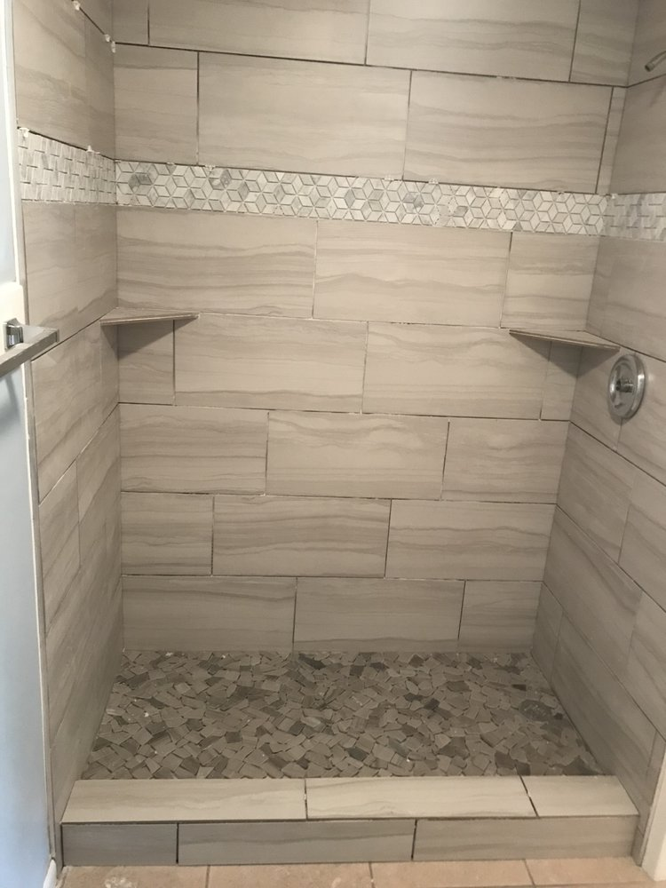 Tile Used Is I019 A B Grade Porcelain Tile With A Rolled Edge