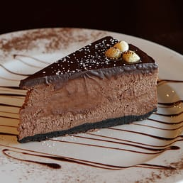 Italiana's - New City, NY, United States. Chocolate Hazelnut Mousse Cake-Italianas New City NY
