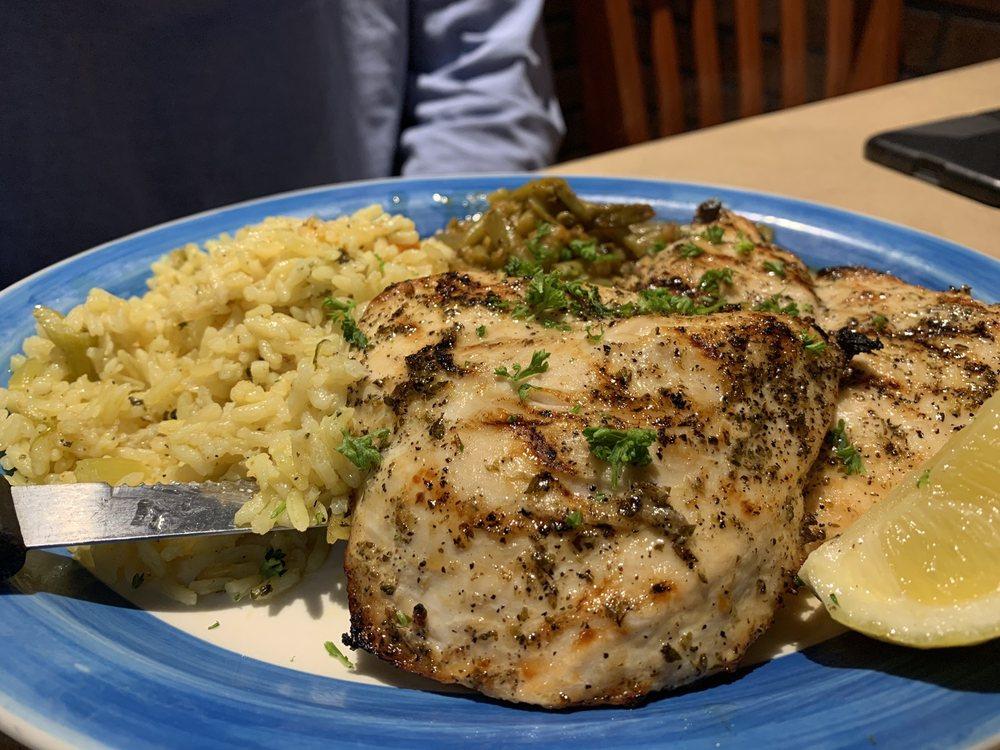 Food from Athena Greek Taverna