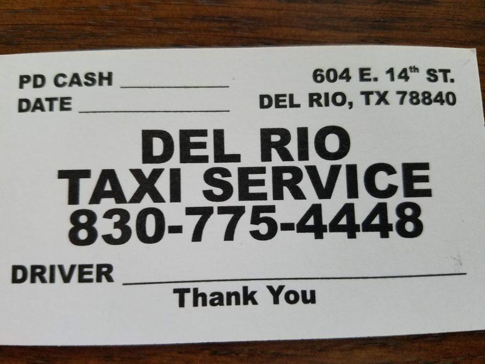 Del Rio Taxi Service: 1005 W Martin St, Del Rio, TX
