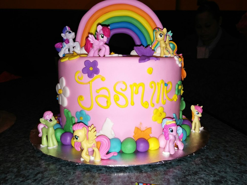 Jasmine My Little Pony Birthday Cake We Too Provided The Cake