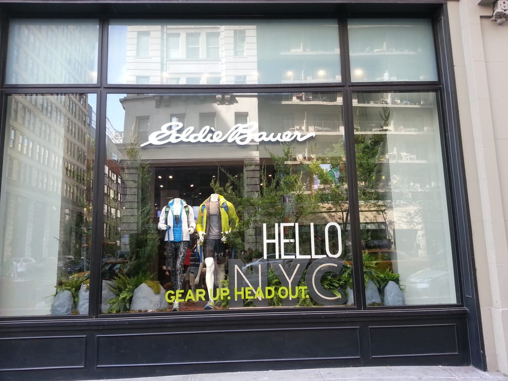 Eddie Bauer New York NY locations, hours, phone number, map and driving directions.
