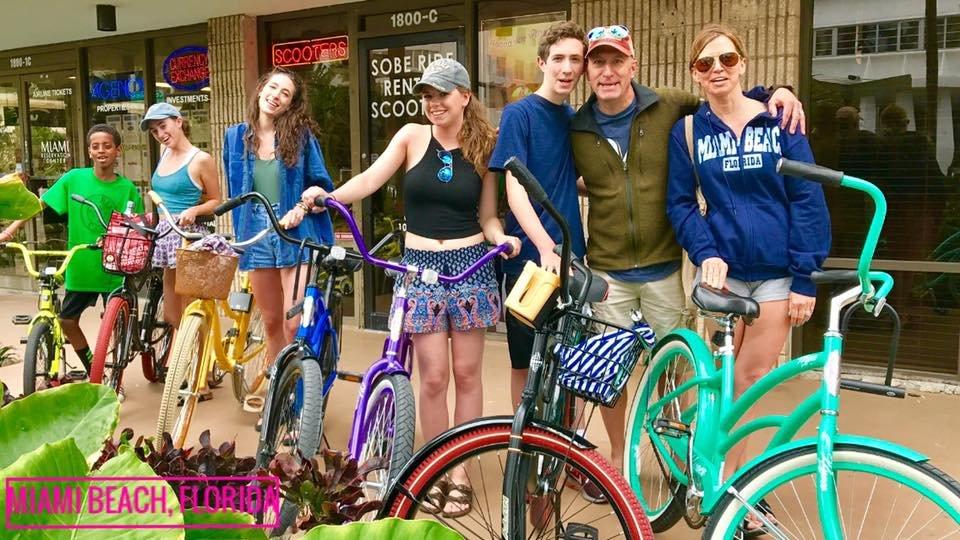Sobe Ride Rental Scooters: 1800 Collins Ave, Miami Beach, FL