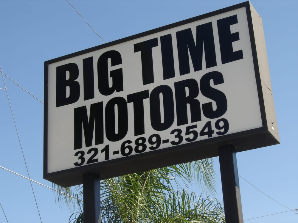Big time motors bilforhandlere 1024 e semoran blvd for Starmount motors south blvd