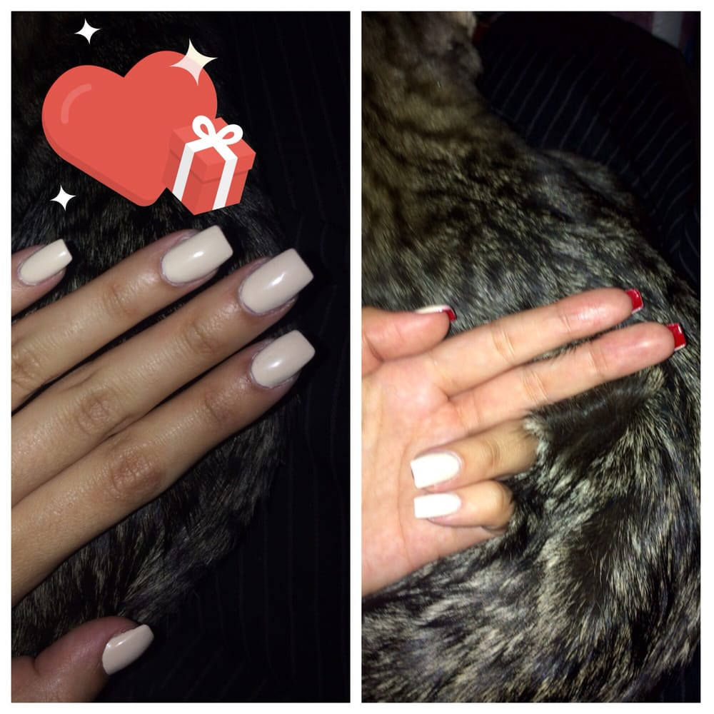 Valentine\'s Day Christian Louis Vuitton red bottom nails - Yelp