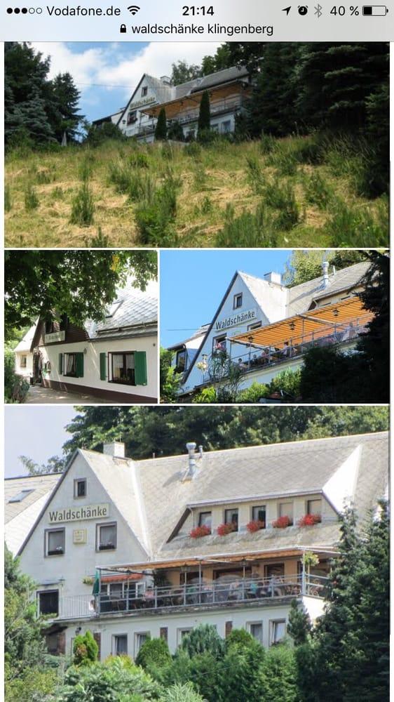 Waldschänke an der Talsperre Klingenberg - Eastern German - Dorfstr ...