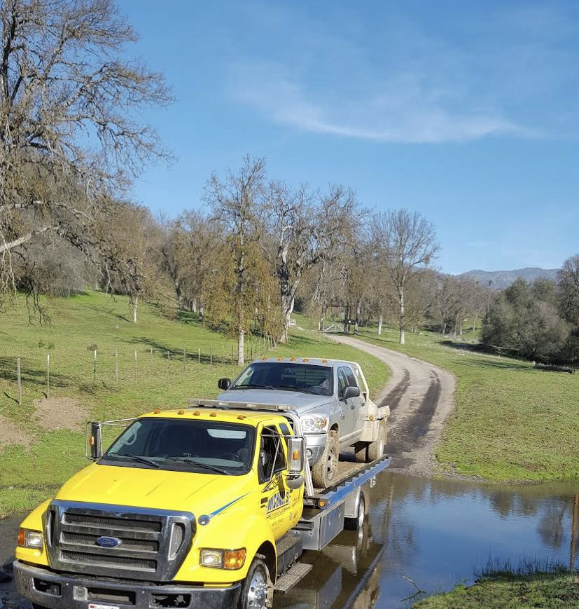 Towing business in Sanger, CA