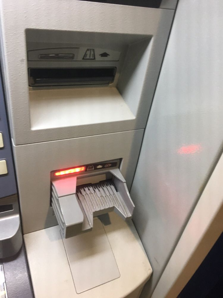 United Police Federal Credit Union >> The Cash Deposit Feeder Is Red Because It Is Down Per The