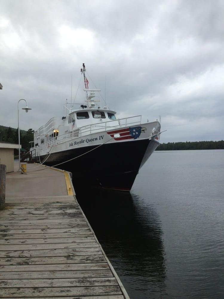 Isle Royale Ferry Service: 60 5th St, Copper Harbor, MI