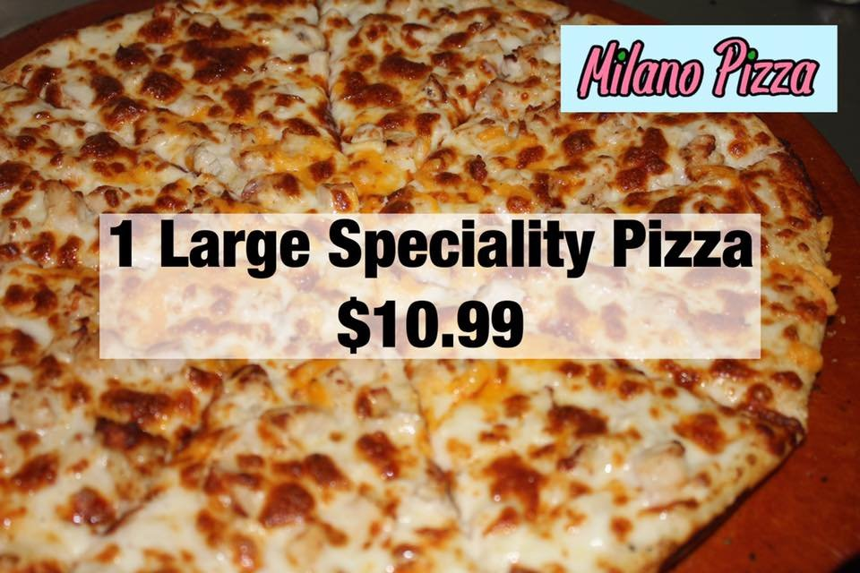 milano pizza 17 foto 39 s 10 reviews halal 224 e spring valley rd richardson tx. Black Bedroom Furniture Sets. Home Design Ideas