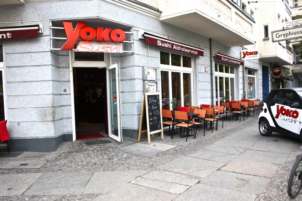 yoko sushi 43 fotos 83 beitr ge japanisch boxhagener str 44 friedrichshain berlin. Black Bedroom Furniture Sets. Home Design Ideas