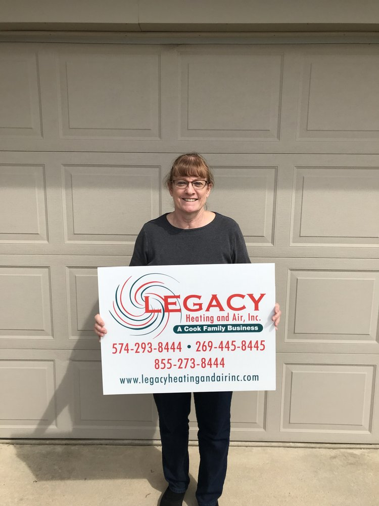 Legacy Heating and Air, Inc.: 22285 Elkhart E Blvd, Elkhart, IN