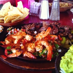 Rosario S Mexican Cafe Y Cantina Mixed Fajita Plate For