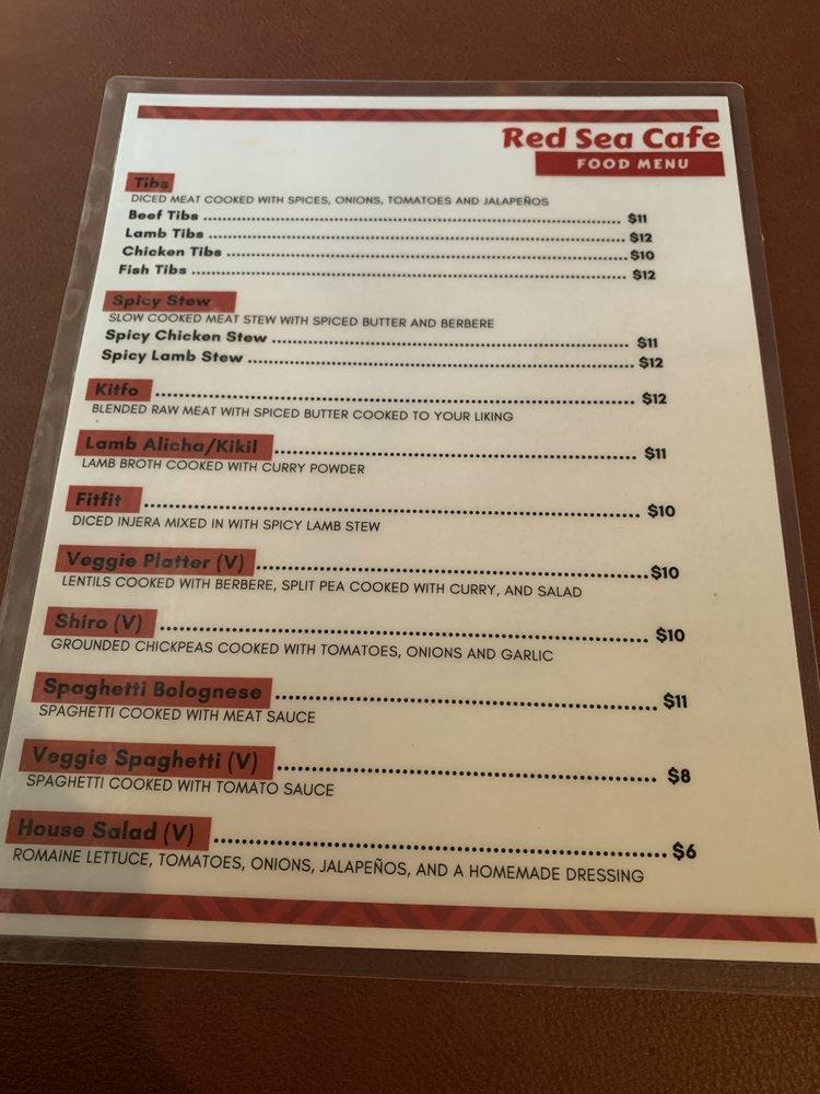 Red Sea Café: 4634 Rockbridge Rd, Pine Lake, GA
