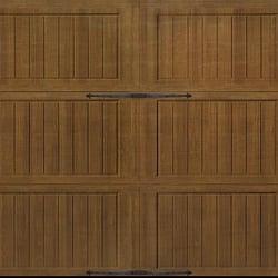 Photo Of Guarantee Garage Doors   Novato, CA, United States. 16x7 Wood Grain