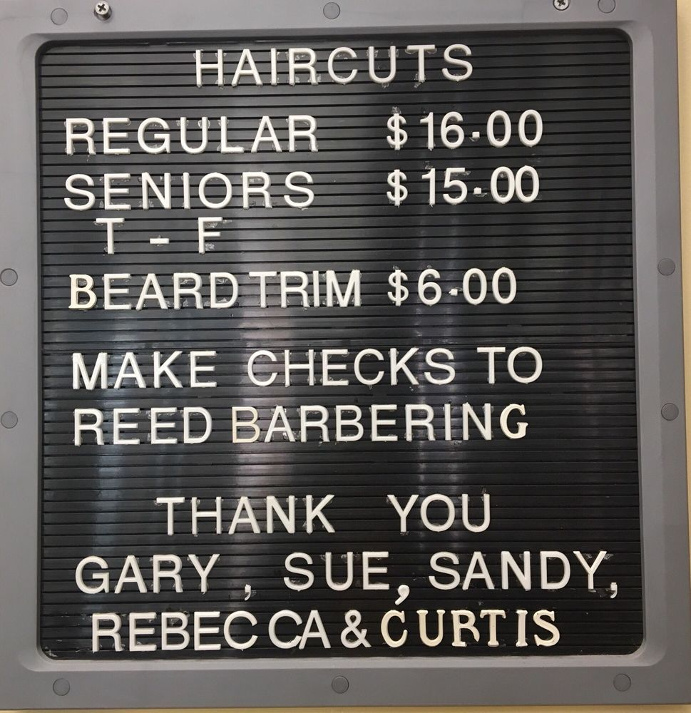 Reed Barbering Gary's: 103 S Main St, Chelsea, MI