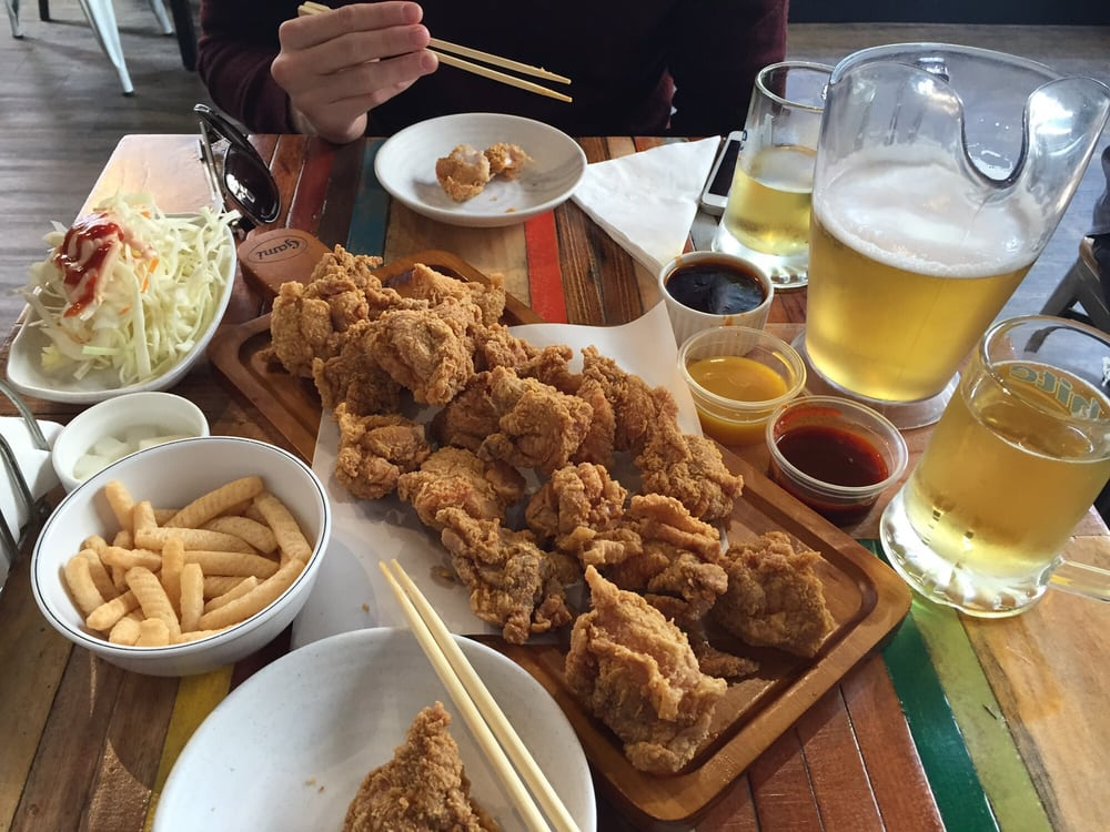 Chicken and beer - photo#30