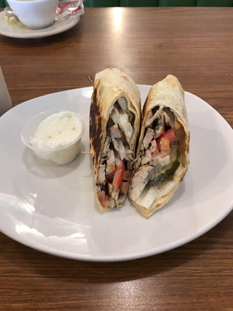 Greek Pantheon Restaurant Menu