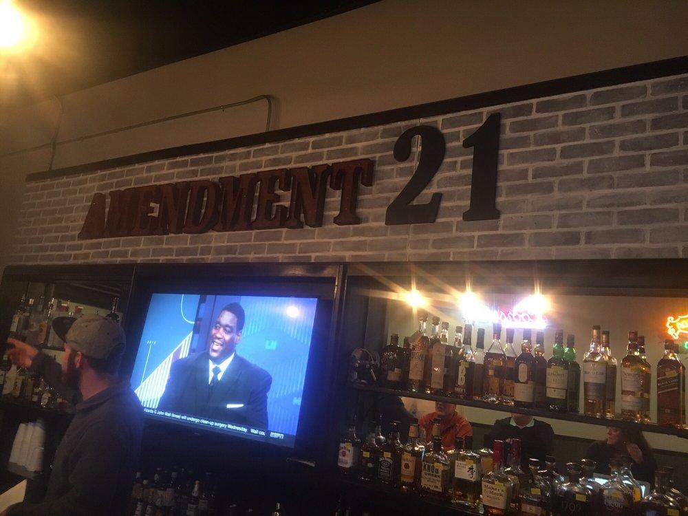 Admendment 21 Grill: 198 N Main St, Rutherfordton, NC