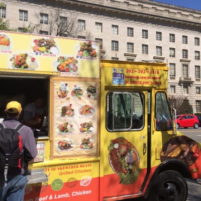 Dc Doner Food Truck Washington Dc Hamburger Hot Dog Stands Mapquest
