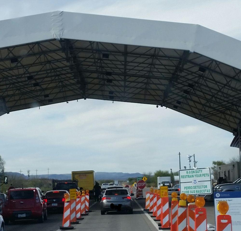 Us Border Patrol Checkpoint: E Frontage Rd, Amado, AZ