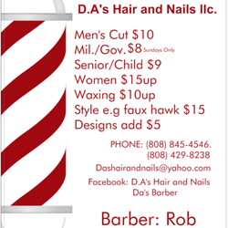 D.A\'s Hairstyle LLC - Beards - Hair Salons - Kalihi - Honolulu, HI ...