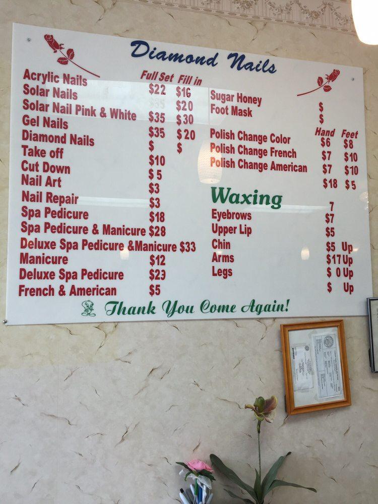 Menu and prices - Yelp