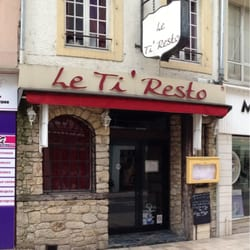 le ti resto restaurants 22 rue ancien h pital thionville moselle restaurant avis. Black Bedroom Furniture Sets. Home Design Ideas