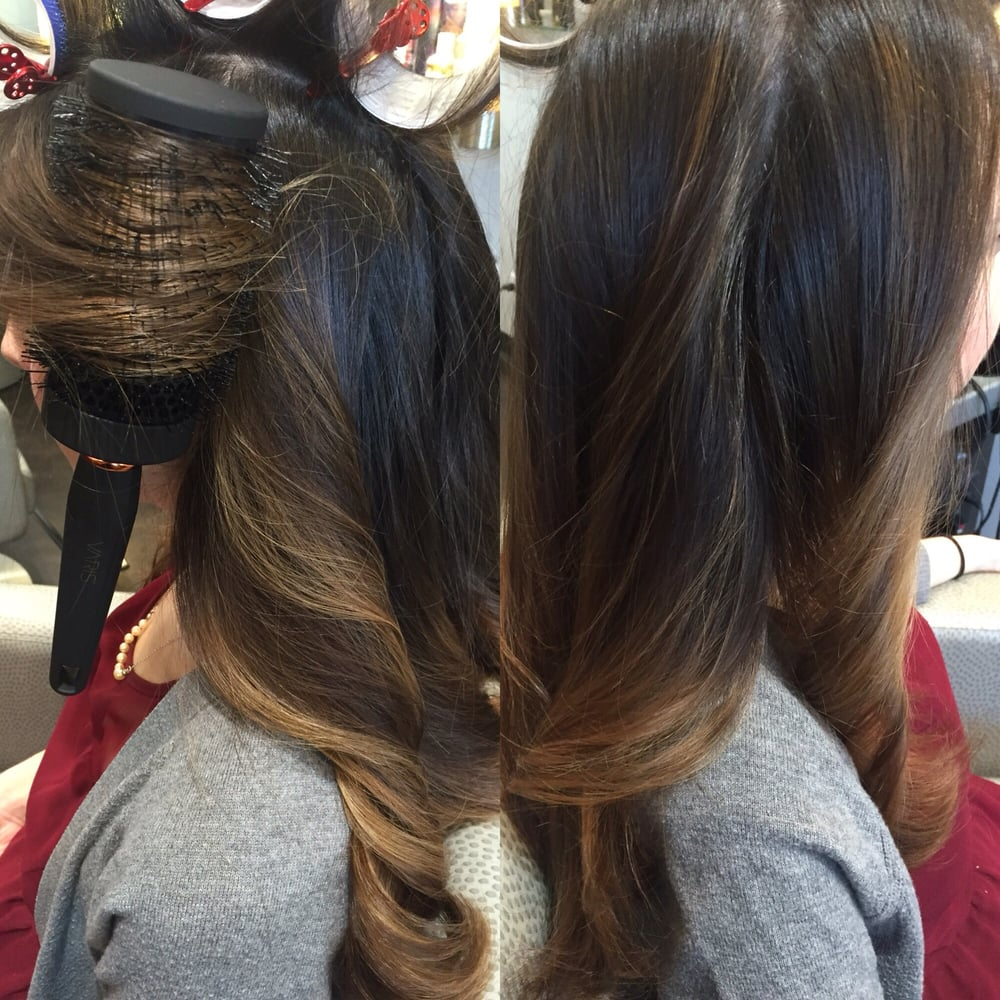 Hair by Safa. Color cut and style. - Yelp