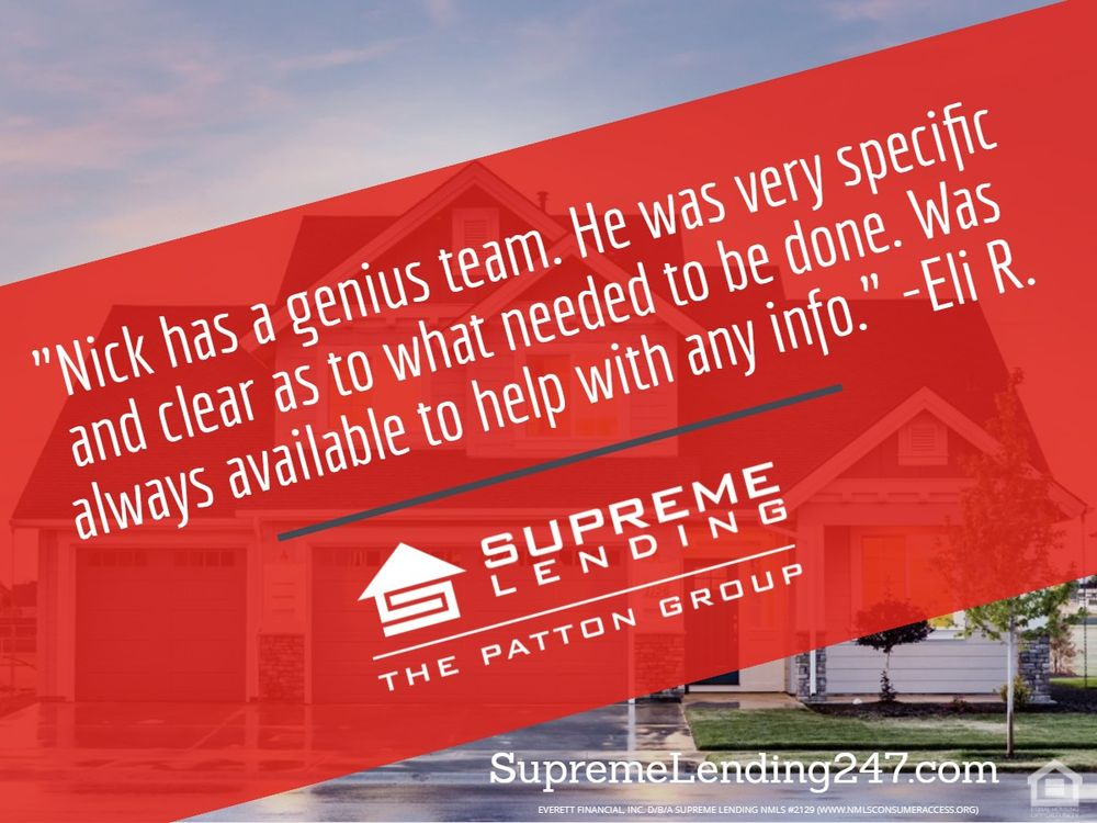 Supreme Lending - The Patton Group: 700 Central Expy S, Allen, TX