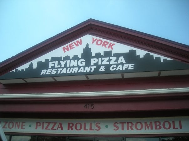 Food from New York Flying Pizza