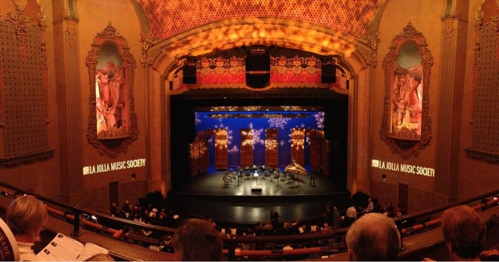 Photo Of Balboa Theatre San Go Ca United States Theater Loge