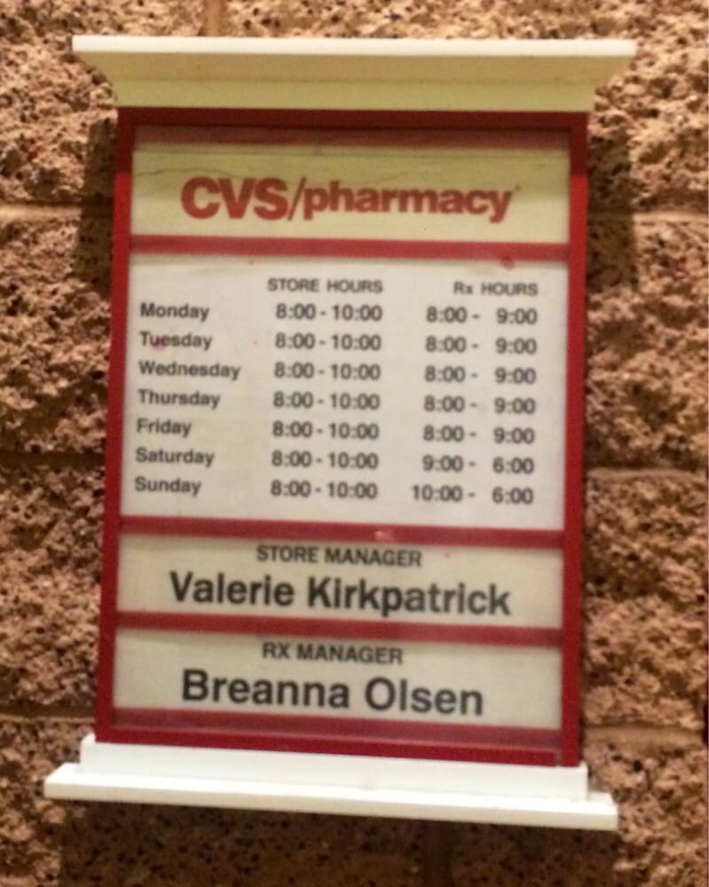 cvs 5 points - store hours  u0026 pharmacy hours