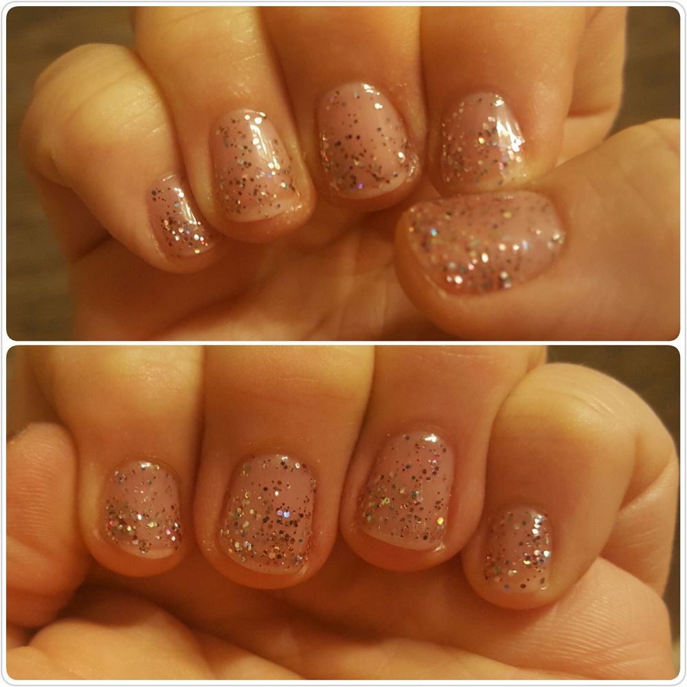 3 layers and still messy glitter! - Yelp