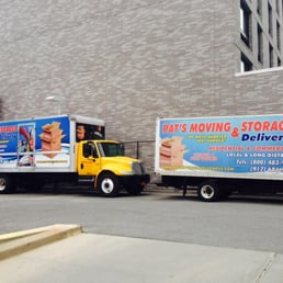 Photo Of Pat S Moving Storage New York Ny United States Trucks
