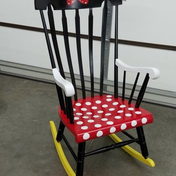 Enjoyable Cute Restored Rocking Chair Yelp Creativecarmelina Interior Chair Design Creativecarmelinacom
