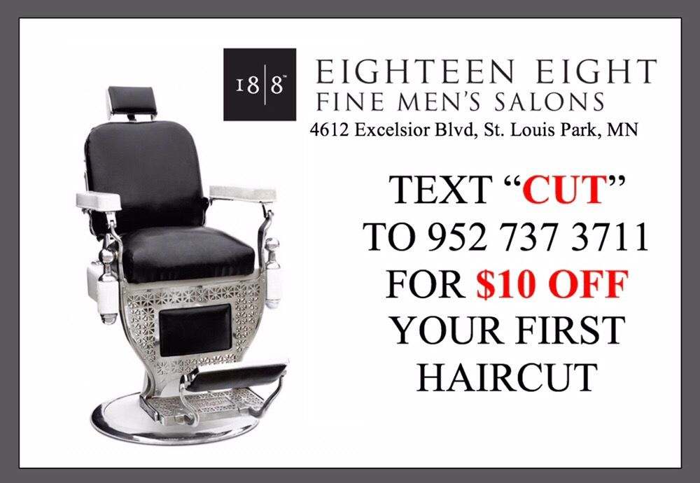 18 8 fine men s salons st louis park 21 photos 24 for 18 8 salon reviews